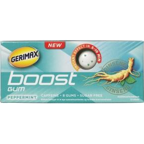 Gerimax Boost Energy Gum, 8 stk