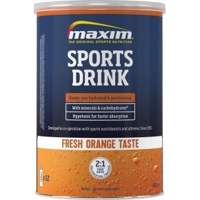 Maxim E Sports Drink fresh orange, 480g