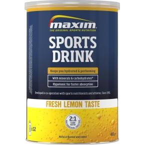 Maxim E Sports Drink fresh lemon, 480g