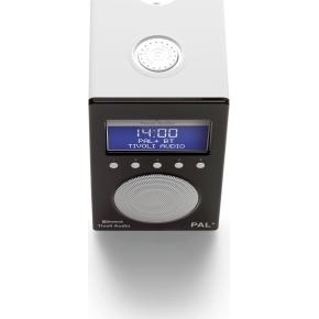 Tivoli Audio Pal+ DAB+/FM/BT Radio, glossy black