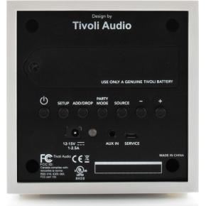 Tivoli Audio CUBE transportabel højttaler, sort