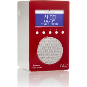 Tivoli Audio Pal+ DAB+/FM/BT radio, glossy red