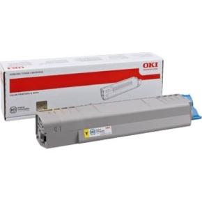 OKI 44059253 lasertoner, gul, 10000s