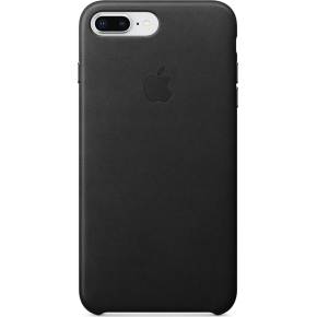Apple iPhone 8/7 Plus Leather Case, Black