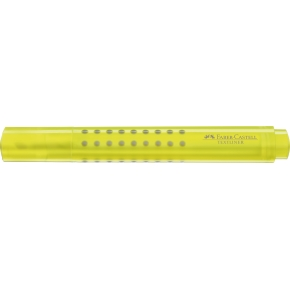 Faber-Castell Grip highlighter, gul