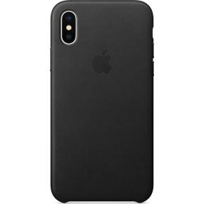 Apple iPhone X Leather Case, sort
