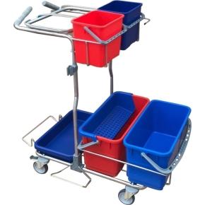 Minatol komplet ergonomisk rengøringsvogn