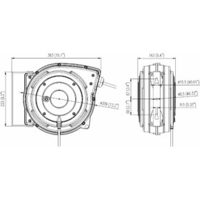 Flowconcept automatisk kabelopruller 20 m IP42