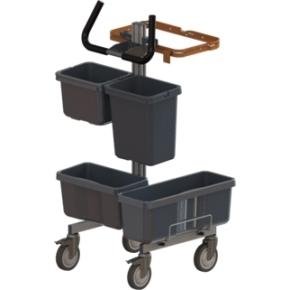 TASKI Lean Trolley nr. 11 rengøringsvogn