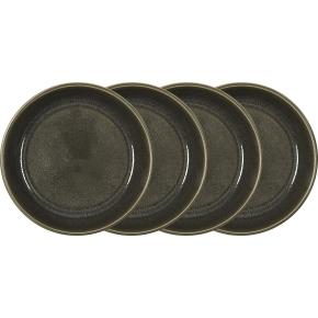 Bitz Gastro Dyb tallerken Ø18 cm, 4 stk., grå/grå