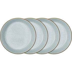 Bitz Gastro Dyb tallerken Ø18 cm, 4 stk., grå/blå