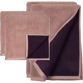 Södahl Fragment Håndklædepakke, 4 stk., plum