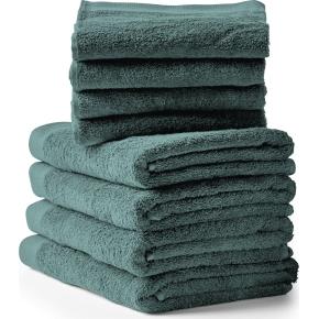 Södahl Comfort Håndklædepakke, 8 stk., deep green