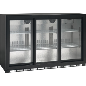 Scandomestic SC 309SL displaykøleskab, 268 liter