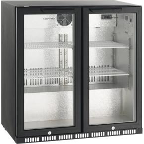 Scandomestic SC 209HD displaykøleskab, 185 liter
