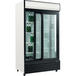 Scandomestic SD 1001-SL Displaykøleskab, 1000 L.