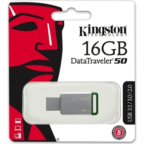 Kingston DataTraveler 50 USB 3.1 - 16 GB