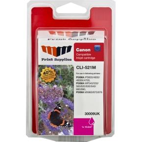 MM CLI-521M kompatibel blækpatron, rød, 586s