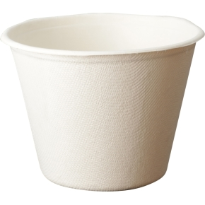 Komposterbar engangsskål, 11,0 x 8,3 cm, 500 ml