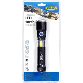 RING RT5195 Heavy Duty teleskopisk LED lommelygte