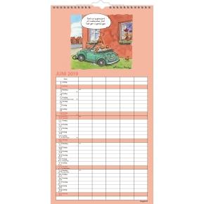 Mayland Familiekalender, Måned, Morsom, 5 kolonner