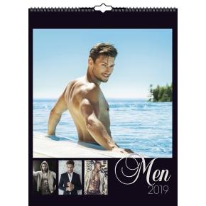 Mayland Vægkalender, 12 månedsblade, Men