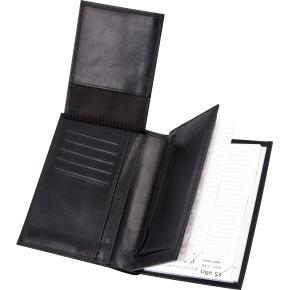 Mayland Mini Planner m/tegnebog, tværformat, sort