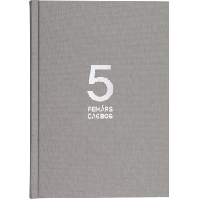 Mayland 5-års dagbog uden årstal, A5