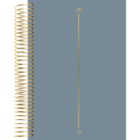 Mayland Spiralkalender, dag, lærredspræg m. tekst