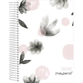 Mayland Spiralkalender, dag, blomster