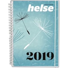 Mayland Helse A5 kalender, uge, højformat