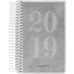 Mayland Minispiralkalender, dag m/4 illu.