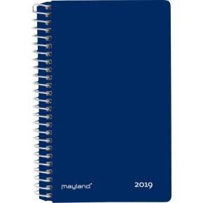Mayland Minispiralkalender, 2 dage, mørkeblå