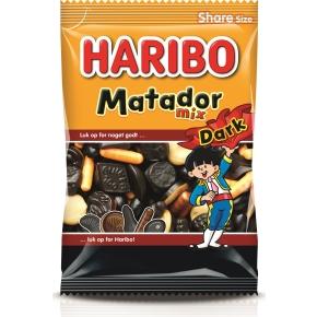 Haribo Matador mix dark, 350 g