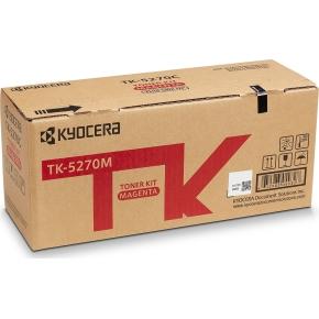 Kyocera TK-5270M Lasertoner, magenta, 6.000s