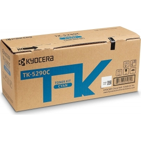 Kyocera TK-5290C Lasertoner, cyan, 13.000s