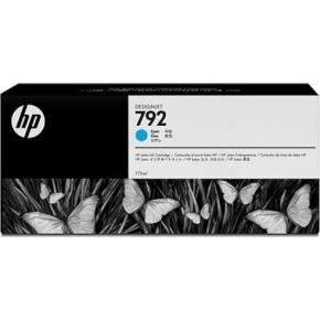 HP 792 Cyan latex (grå) blækpatron, 775ml