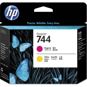 HP No744 Magenta & gul DesignJet printhoved
