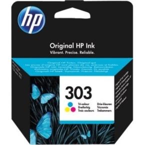 HP No303 tri-farve blækpatron, blister, 4ml