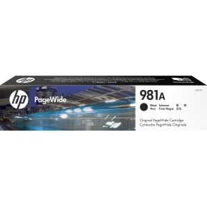 HP No981A blækpatron, sort, 6.000s