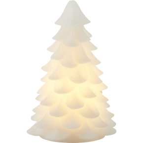 Carla LED grantræslys, Hvid, Ø 11 x H 16 cm