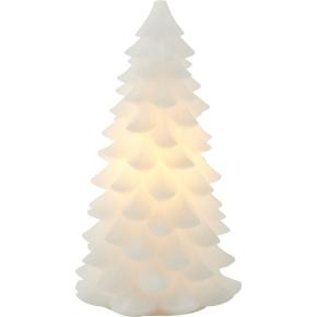Carla LED grantræslys, Hvid, Ø 13 x H 23 cm