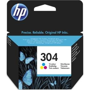 HP No304 blækpatron blister, tri-farve, 100s