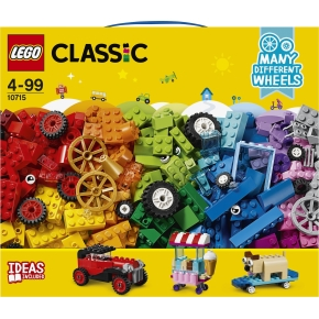 LEGO Classic 10715 Klodser på hjul, 4-99 år