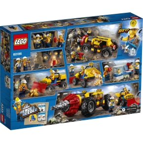 LEGO City 60186 Stort minebor, 5-12 år