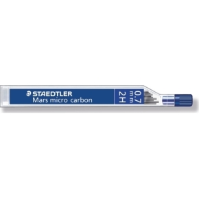 Staedtler Mars Micro 250 Stifter 2H 0,7 mm, 12 stk