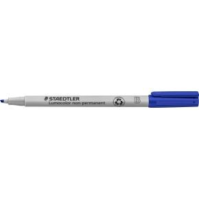 Staedtler Lumocolor 312 Marker B, non-perm, blå