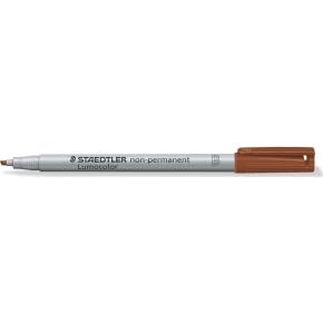 Staedtler Lumocolor 312 Marker B, non-perm, brun