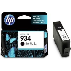 HP No934 blækpatron, blister, sort, 400s