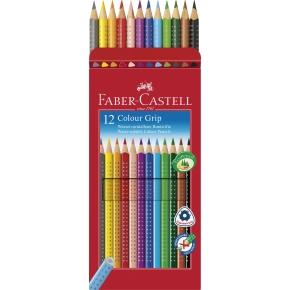 Faber-Castell Grip Farveblyanter, 12 stk.
